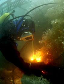 резка подводна